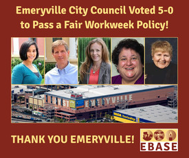 Emerville VOTED 5-0 Fair Workweek meme 2